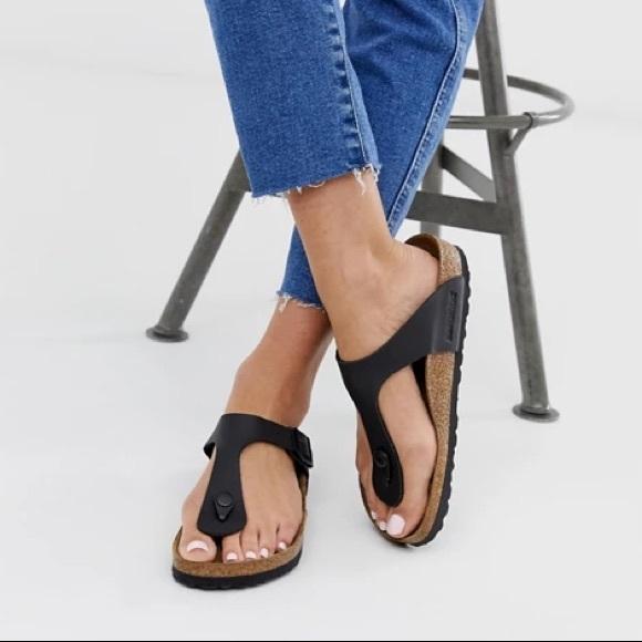 Birkenstock gizeh sandals women's sz 5